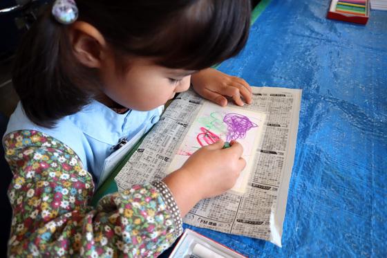 やと子ども美術教室 ~ 秋色で遊ぼう ~ _e0222340_14143525.jpg