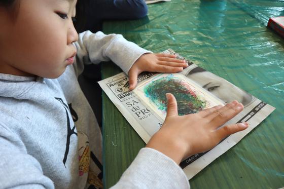 やと子ども美術教室 ~ 秋色で遊ぼう ~ _e0222340_14144798.jpg
