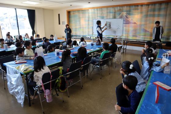 やと子ども美術教室 ~ 秋色で遊ぼう ~ _e0222340_1414524.jpg