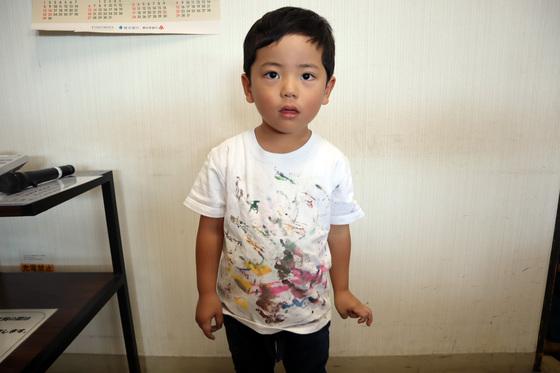 やと子ども美術教室 ~ 秋色で遊ぼう ~ _e0222340_1511777.jpg