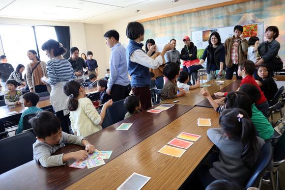 やと子ども美術教室 ~ 秋色で遊ぼう ~ _e0222340_15183091.jpg