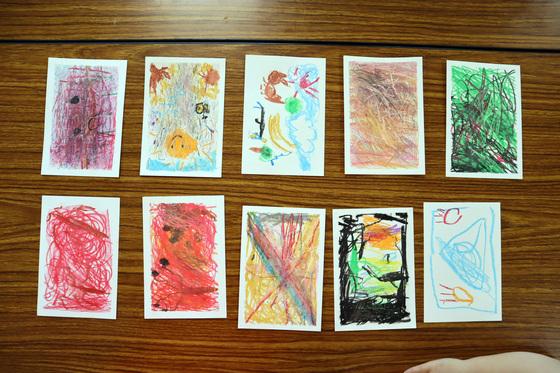やと子ども美術教室 ~ 秋色で遊ぼう ~ _e0222340_15185638.jpg