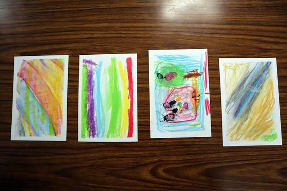 やと子ども美術教室 ~ 秋色で遊ぼう ~ _e0222340_15192767.jpg