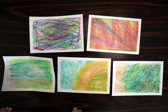 やと子ども美術教室 ~ 秋色で遊ぼう ~ _e0222340_15235489.jpg