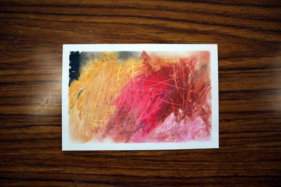 やと子ども美術教室 ~ 秋色で遊ぼう ~ _e0222340_15241332.jpg