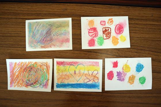 やと子ども美術教室 ~ 秋色で遊ぼう ~ _e0222340_153120100.jpg