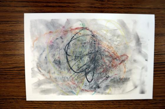 やと子ども美術教室 ~ 秋色で遊ぼう ~ _e0222340_1535664.jpg