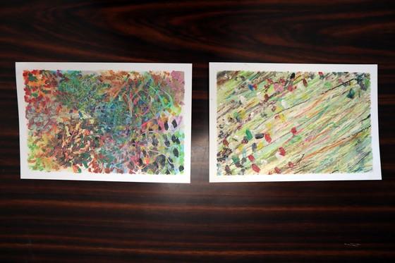 やと子ども美術教室 ~ 秋色で遊ぼう ~ _e0222340_15385471.jpg
