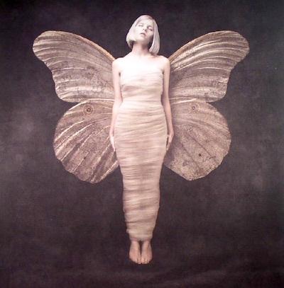真言の音楽/極光の調べをつむぐ者。オーロラの国から来た妖精は蝶のように舞い、歌い、輝く。ファラデーの電磁誘導の法則に則り、太陽風という名のプラズマの流れに乗って。_c0109850_00001676.jpg