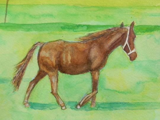 '19,11,10(日)馬の絵と一番の親友!_f0060461_09342277.jpg