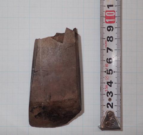 コラムリレー(第141回)今年度花沢館跡発掘調査で見つかった驚きの石製品_f0228071_19322991.jpg