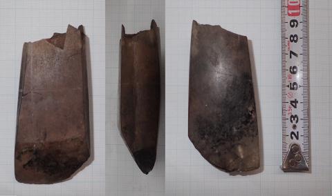 コラムリレー(第141回)今年度花沢館跡発掘調査で見つかった驚きの石製品_f0228071_21081321.jpg