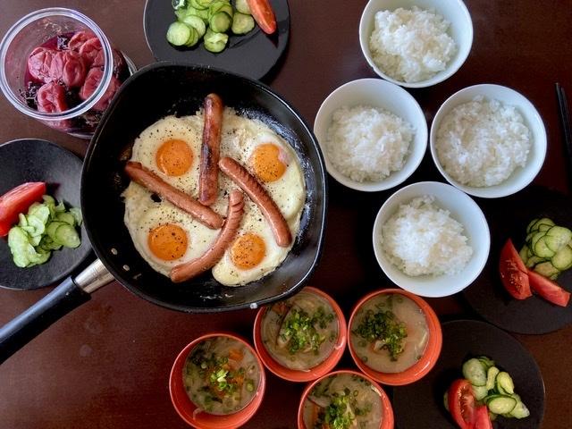 次女と一緒に朝ごはんを作る_d0327373_08423084.jpeg