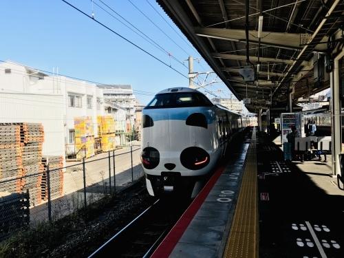 くろしおパンダ列車でした_f0054677_07250448.jpg