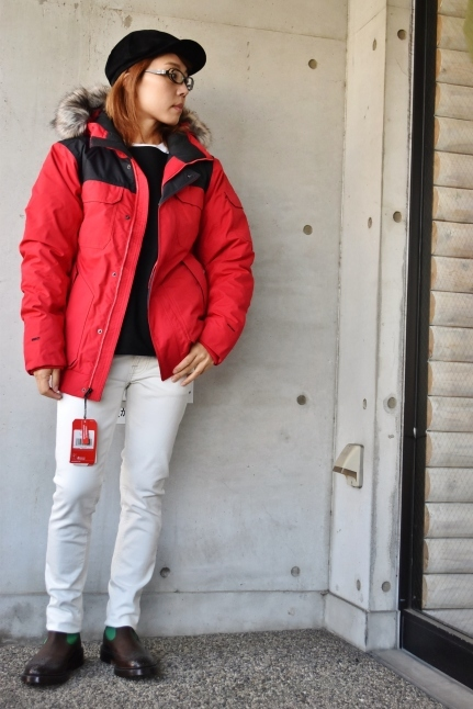 THE NORTH FACE STYLE ★★   RED / BLACK_d0152280_07515644.jpg