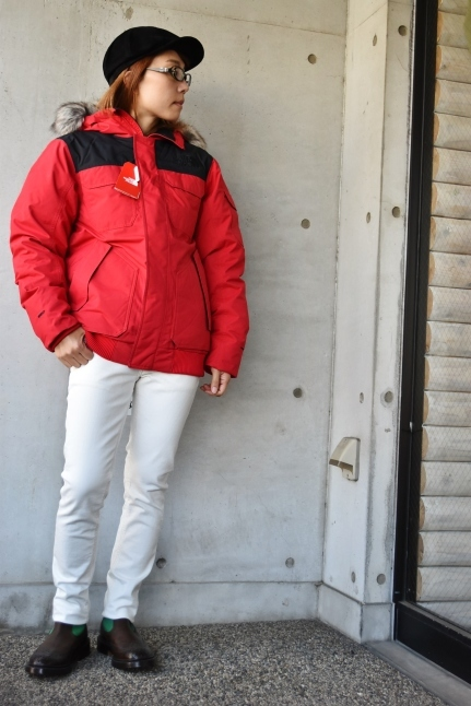 THE NORTH FACE STYLE ★★   RED / BLACK_d0152280_07521888.jpg