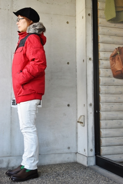 THE NORTH FACE STYLE ★★   RED / BLACK_d0152280_07525209.jpg