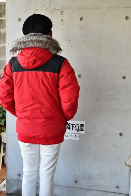 THE NORTH FACE STYLE ★★   RED / BLACK_d0152280_07530697.jpg
