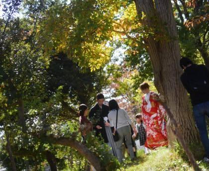 遅めの午後から鳥取市内の仁風閣での婚礼前撮り......._b0194185_18472775.jpg