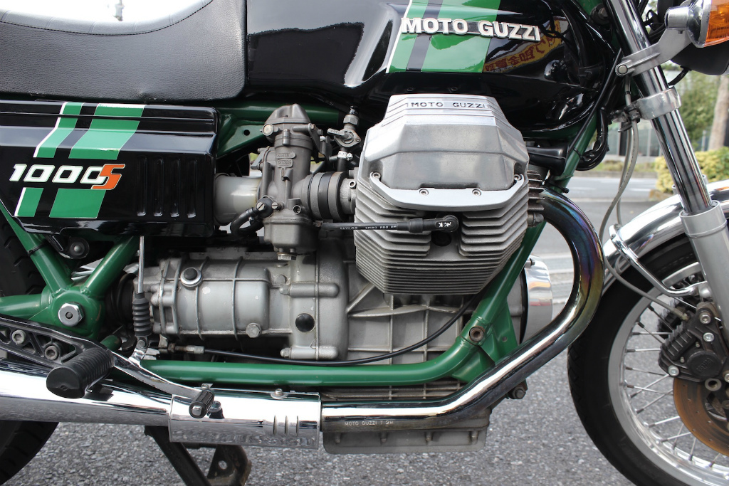 Moto Guzzi 1000S 入荷_a0208987_18311869.jpg