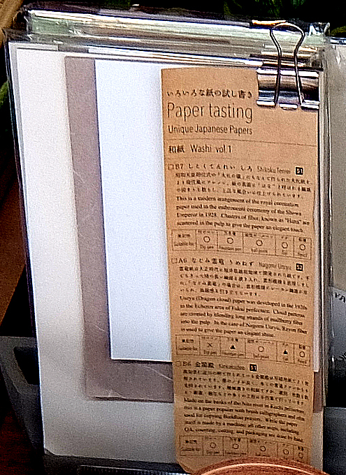 ニューヨークの文房具屋さんで見かけた日本製の品々_b0007805_04404445.jpg