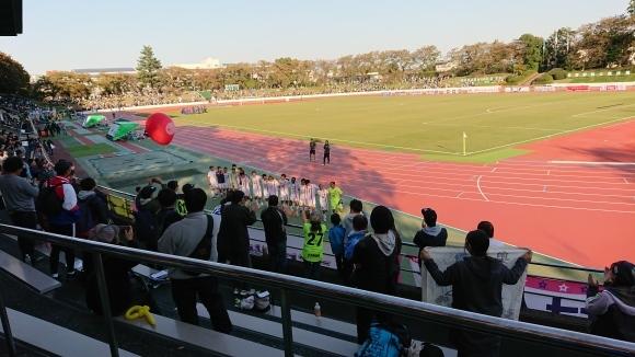 第21回日本フットボールリーグ2019 第26節 東京武蔵野シティFC - テゲバジャーロ宮崎_b0042308_09253236.jpg