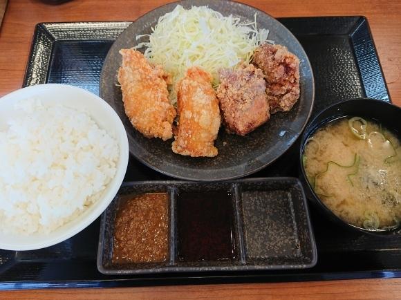 11/11 からやま日野店 合い盛り定食¥682 → ¥582_b0042308_14333404.jpg