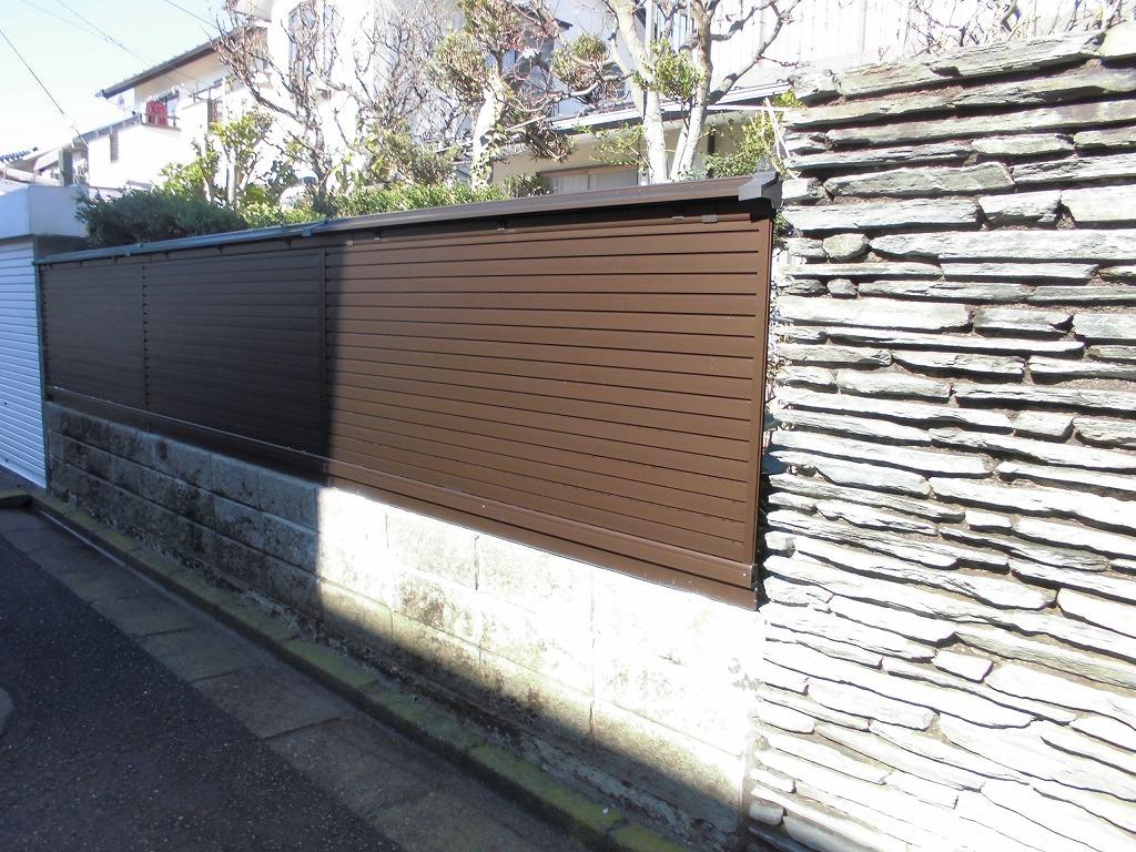 フェンスの交換_d0358411_18055089.jpg