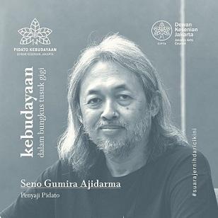 """映像:インドネシアの作家・Seno Gumira Ajidarmaさんの講話:\""""Kebudayaan dalam Bungkus Tusuk Gigi\""""_a0054926_20390048.jpg"""