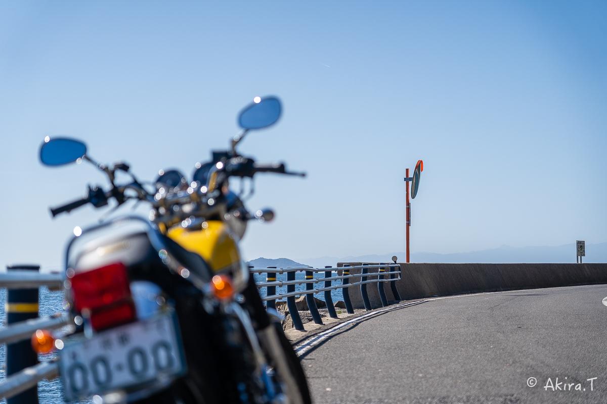 バイクは楽し!! YAMAHA SR400 -58- 淡路島_f0152550_23000120.jpg