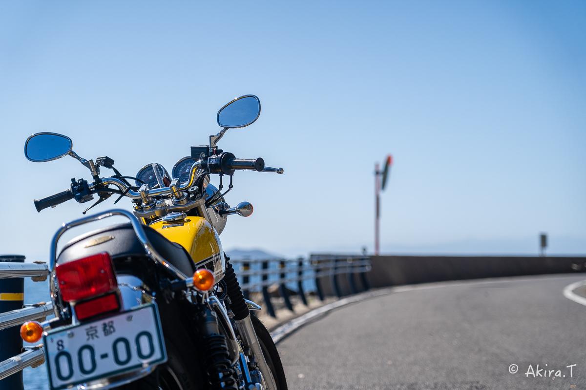 バイクは楽し!! YAMAHA SR400 -58- 淡路島_f0152550_23000921.jpg