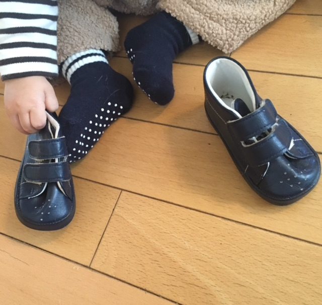 first shoes   懐かしい12cm♪_a0165160_22584256.jpg