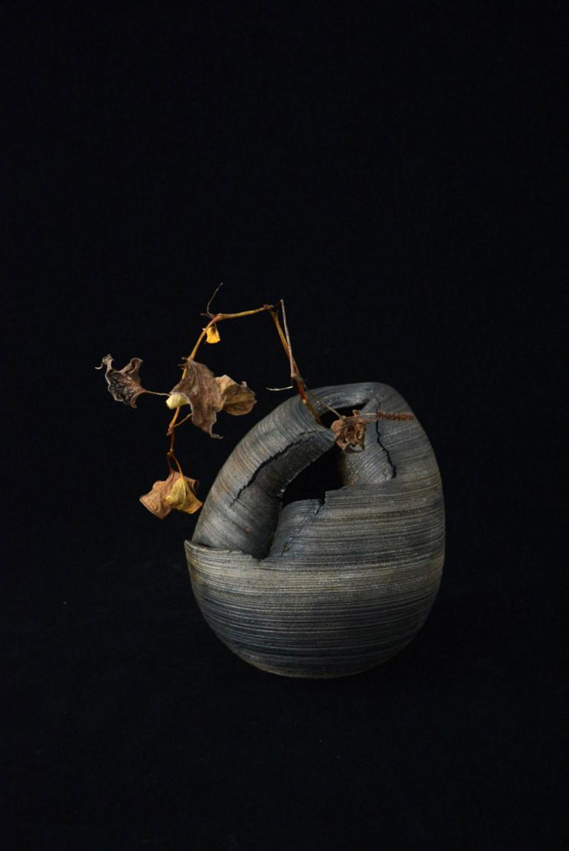 「西川聡展 もうひとつの工芸」3日目-2_d0087761_16244491.jpg