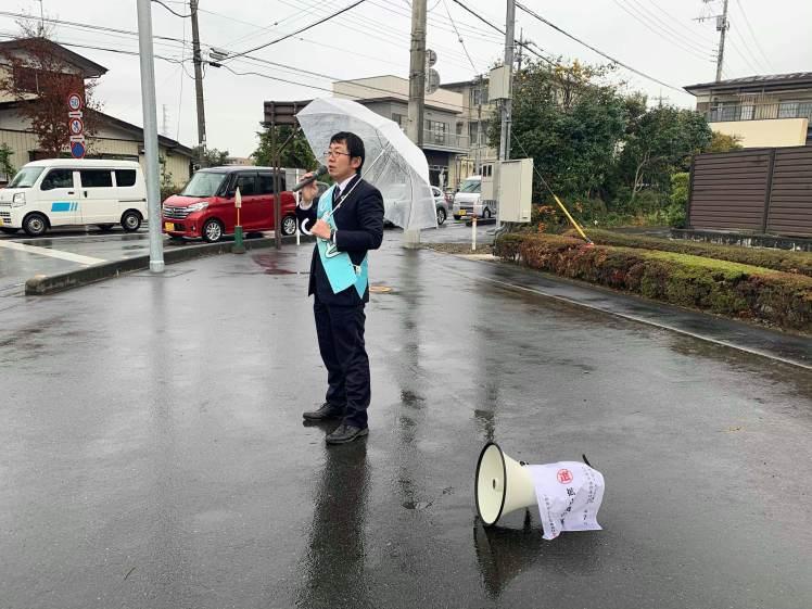 選挙戦2日目…親園・佐久山・金田_b0063162_23203362.jpg