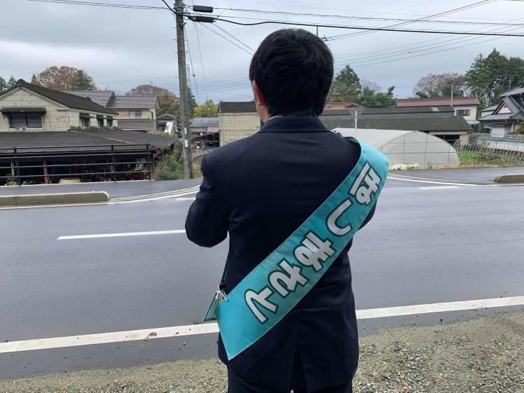 選挙戦2日目…親園・佐久山・金田_b0063162_23222433.jpg