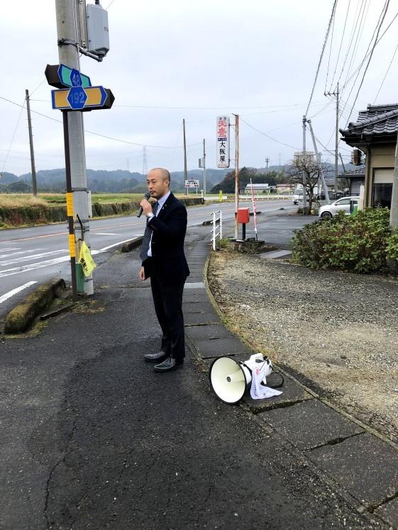 選挙戦2日目…親園・佐久山・金田_b0063162_23382458.jpg