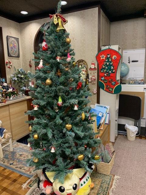 クリスマスの飾りつけ完了☆_e0040673_21002019.jpg