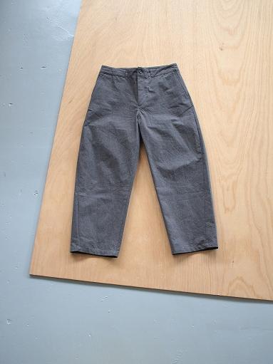 THE HINOKI Cotton Horse Cloth Tapered Easy Pants_b0139281_17421461.jpg