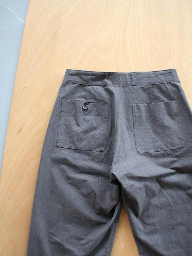 THE HINOKI Cotton Horse Cloth Tapered Easy Pants_b0139281_17425241.jpg