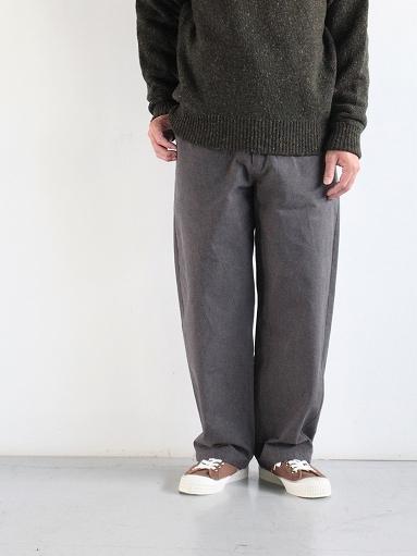 THE HINOKI Cotton Horse Cloth Tapered Easy Pants_b0139281_17431152.jpg