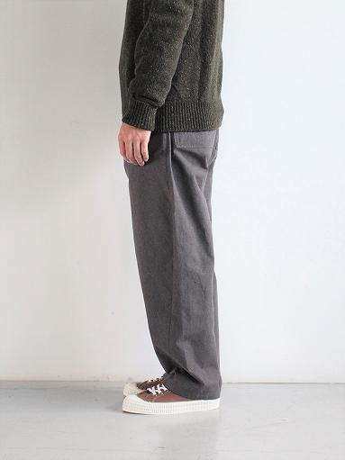 THE HINOKI Cotton Horse Cloth Tapered Easy Pants_b0139281_17432362.jpg