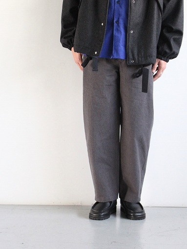 THE HINOKI Cotton Horse Cloth Tapered Easy Pants_b0139281_1743370.jpg
