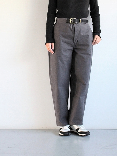 THE HINOKI Cotton Horse Cloth Tapered Easy Pants_b0139281_17434285.jpg