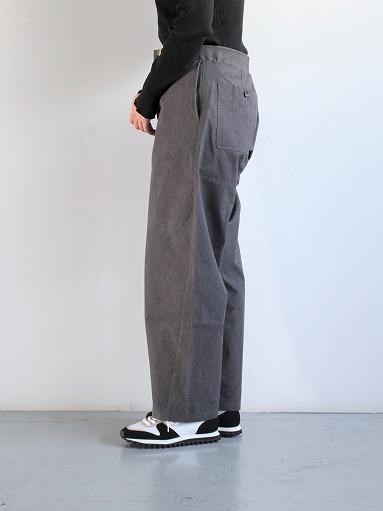 THE HINOKI Cotton Horse Cloth Tapered Easy Pants_b0139281_17435252.jpg
