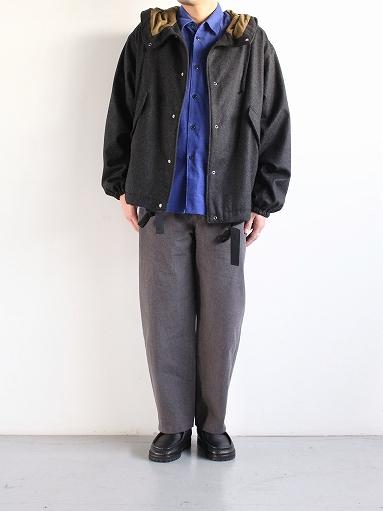 THE HINOKI Cotton Horse Cloth Tapered Easy Pants_b0139281_17442865.jpg