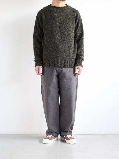 THE HINOKI Cotton Horse Cloth Tapered Easy Pants_b0139281_17444093.jpg