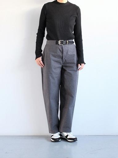 THE HINOKI Cotton Horse Cloth Tapered Easy Pants_b0139281_17445013.jpg