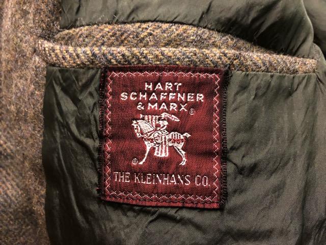 11月13日(水)マグネッツ大阪店ヴィンテージ入荷!!#3 Coat & Robe編! HarrisTweed & PENNY\'S, HART SCHAFFNER&MARX!!_c0078587_13554298.jpg