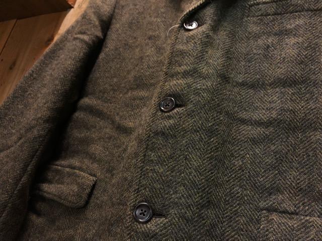 11月13日(水)マグネッツ大阪店ヴィンテージ入荷!!#3 Coat & Robe編! HarrisTweed & PENNY\'S, HART SCHAFFNER&MARX!!_c0078587_13561123.jpg