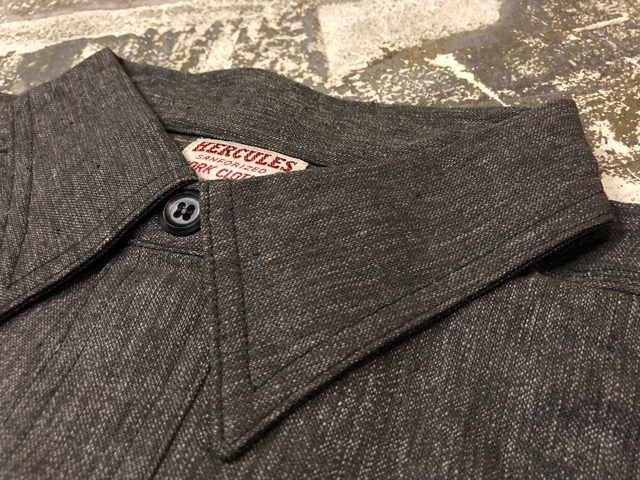 "11月13日(水)マグネッツ大阪店ヴィンテージ入荷!!#5 Work編!  NOS ""HERCULES\"" BlackChambray & Lee, Levi\'s, Wrangler!!_c0078587_15393762.jpg"